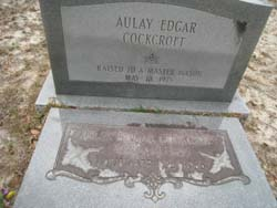 Aulay Edgar Cockcroft