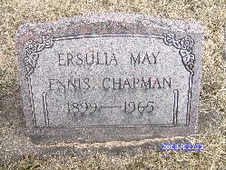Eursula May <i>Ennis</i> Chapman