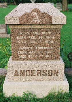 Harriet <i>Smith</i> Anderson