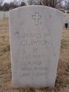 Dr James William Clawson, Sr
