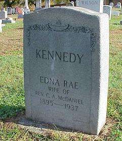 Edna Rae <i>Kennedy</i> McDaniel