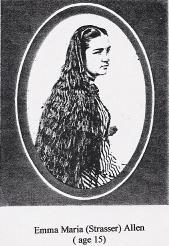 Emma Marie <i>Strasser</i> Allen