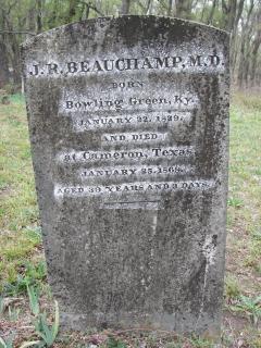 Dr Joshua Runey Beauchamp