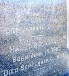 Harriet Patrick Hally <i>Jack</i> Ballinger