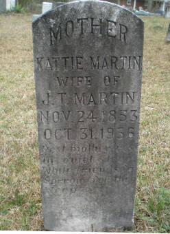 Kattie <i>Tubb</i> Martin