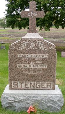 Anna Mary <i>Schmitt</i> Stenger