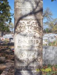 Friedrich Julius Pietzsch, Jr