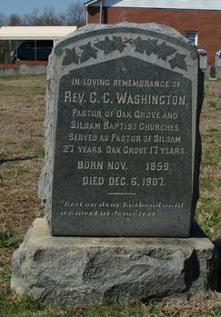 Rev C. C. Washington