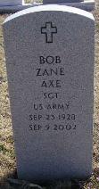 Robert Zane Axe