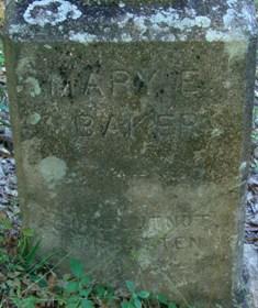 Mary Eliza <i>Rigby</i> Baker