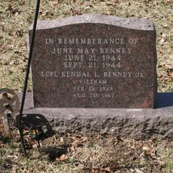 LCpl Kendal L. Benney, Jr