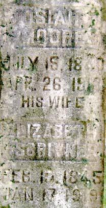Keturah Elizabeth <i>Scrivner</i> Moores
