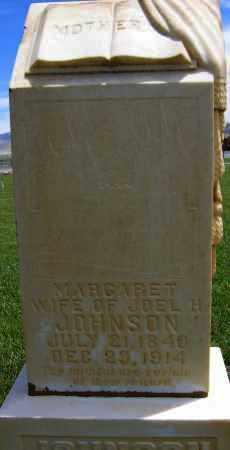 Margaret <i>Threlkeld</i> Johnson