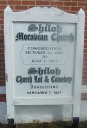 Shiloh Moravian Church Cemetery