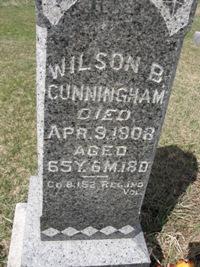 Pvt Wilson B. Cunningham