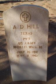 A. D. Hill
