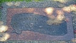 Henrietta Baldwin