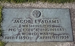 Jacob E Adams
