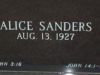 Alice Sanders Launius