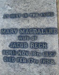 Mary Magdalene <i>Burkhardt</i> Rech