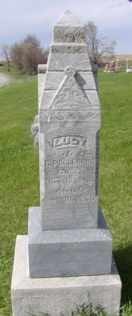 Lucy May <i>Landers</i> Foglesong