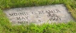Minnie Catherine <i>Gardner</i> Beamer