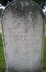 Elizabeth <i>Johnstone</i> Birkbeck