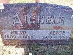 Alice <i>Miller</i> Aichele