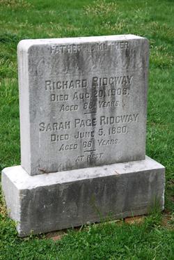 Sarah <i>Page</i> Ridgway