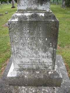 Sallie Salina <i>Foster</i> Tomlinson