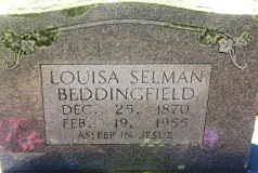 Louisa Selman <i>Needham</i> Beddingfield