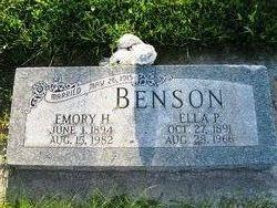 Ella <i>Parker</i> Benson