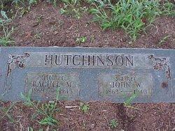 Rachel Malinda <i>Jackson</i> Hutchinson