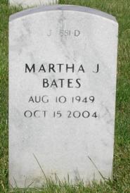 Martha Jean <i>Brackett</i> Bates