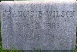 Francis B Wilson