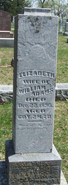 Elizabeth <i>Culberson</i> Adams