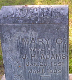Mary Catherine <i>Ragle</i> Adams
