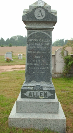 Ann C. <i>Howland</i> Allen