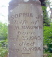 Sophia J. Brown