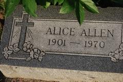 Alice Cordelia <i>Maness</i> Allen