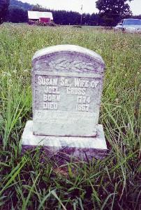Susannah <i>Moore</i> Cross