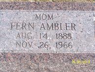 Fern Lila <i>Chesley</i> Ambler