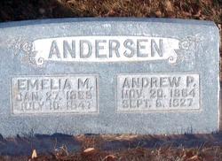 Emelia Maria Millie <i>Larsen</i> Anderson