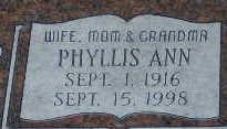 Phyllis Ann Allen