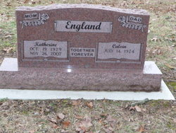 Helen Katherine <i>Callis</i> England
