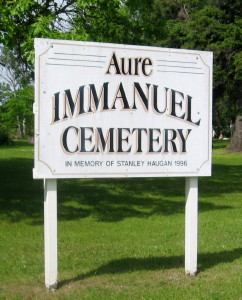 Aure Immanuel Cemetery
