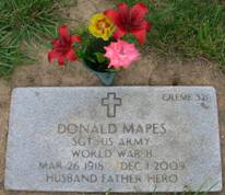 Donald F Don Mapes