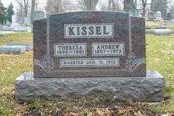 andrew kissel 1887 - 1973 - find a grave memorial