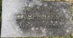 Jennie Mose <i>Moore</i> Carpenter