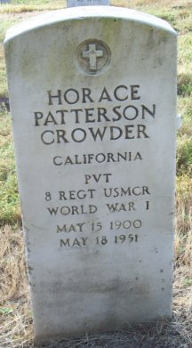 Horace Patterson Crowder